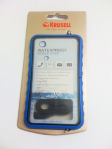 Krusell Sealabox  case Blue color